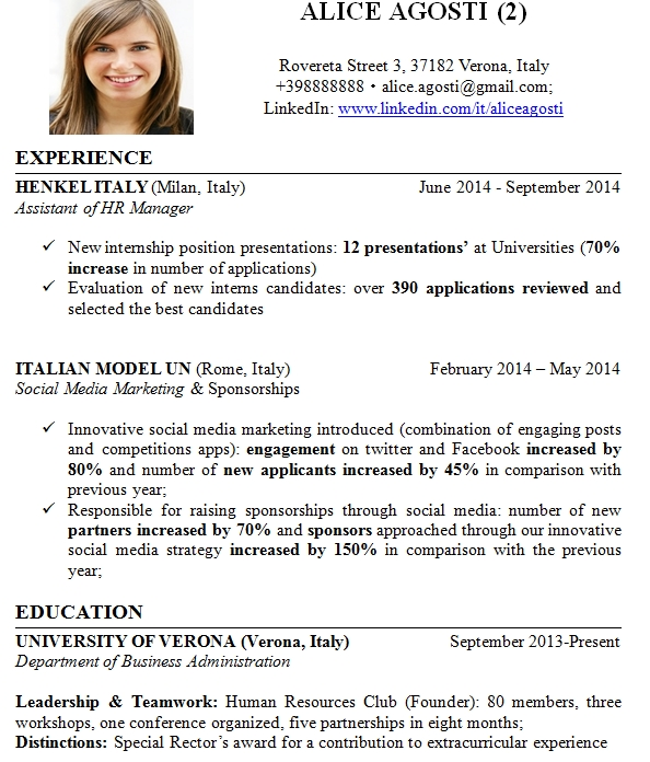 How to write winning and great CV resume