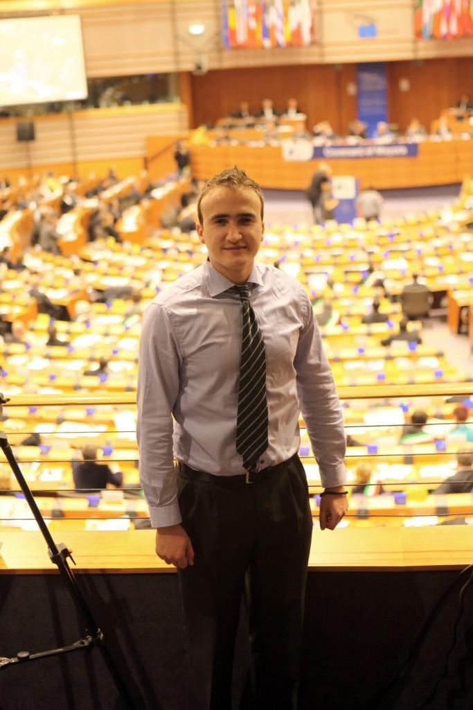 Internship at EU